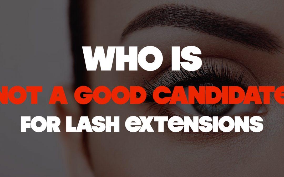 Who Should NOT Get Lash Extensions: Lavish Cincinnati Lash Extensions