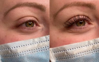 A More Immersive Classic Lashes Before and After Experience