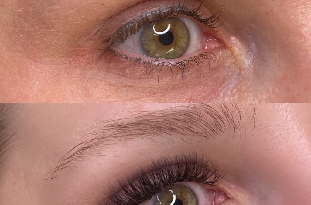 A More Immersive Volume Lashes Before and After Experience
